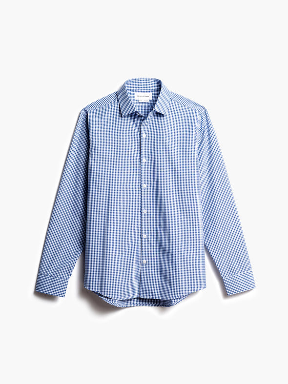Men's Aero Zero Dress Shirt - Blue Box Plaid