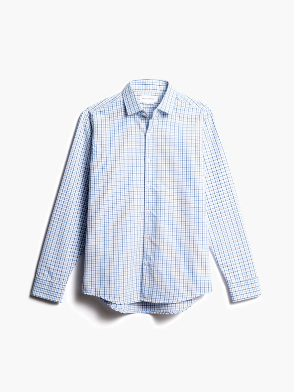 Men's Aero Zero Dress Shirt - Blue Tattersall (3B)