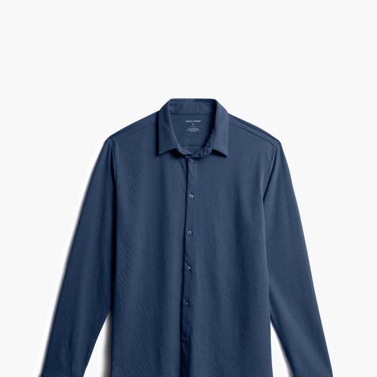 Men's Composite Merino Shirt - Navy