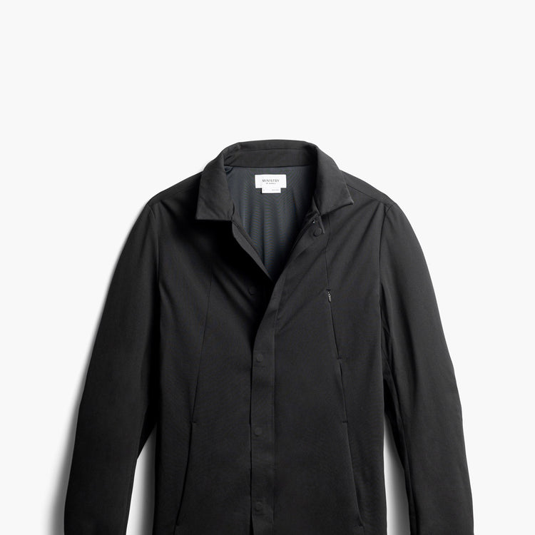 Men's Kinetic Town Coat - Black