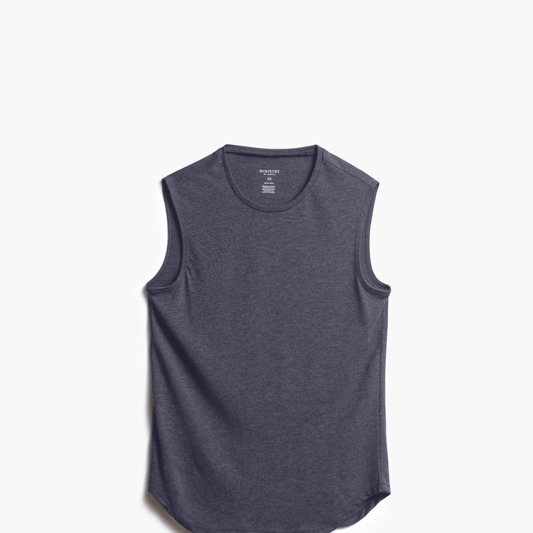 Women's Composite Merino Tank - Dark Grey