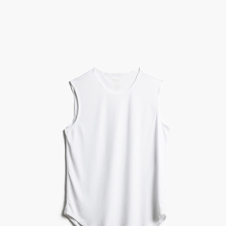 Luxe Touch Tank - White