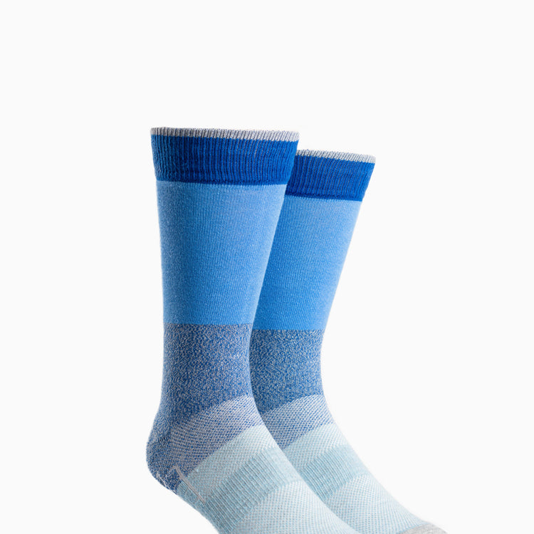 Atlas Dress Sock - Blue Block