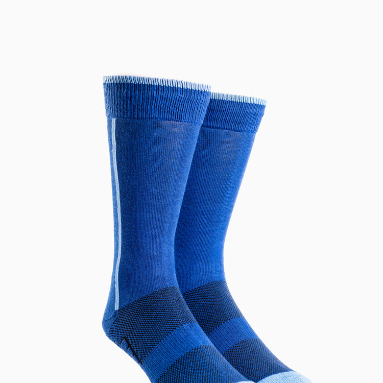 Atlas Dress Sock - Blue Line