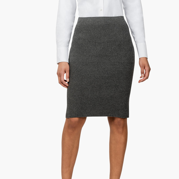 3D Print–Knit Skirt - Dark Grey