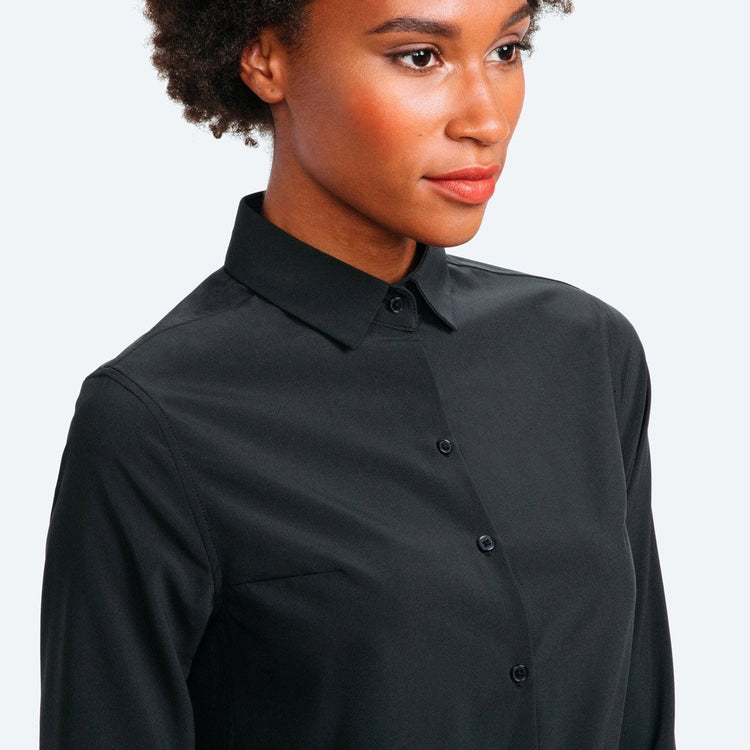 Easier Than Silk Shirt - Black