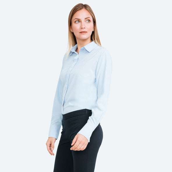 Juno Blouse - Chambray