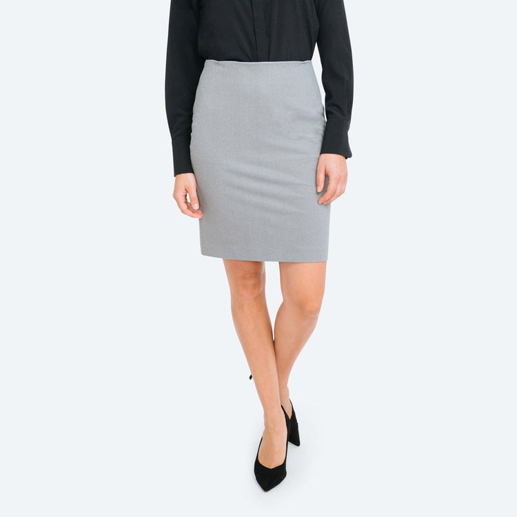 Women's Kinetic Pencil Skirt - Grey Heather