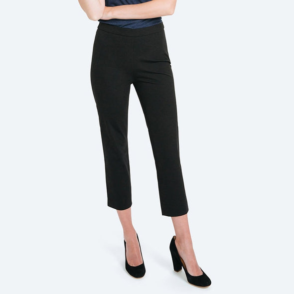 Women's Skinny Crop Kinetic Pants - Black