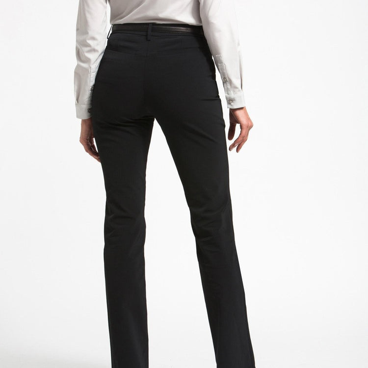 Structure Your Day Classic Leg Pant - Black