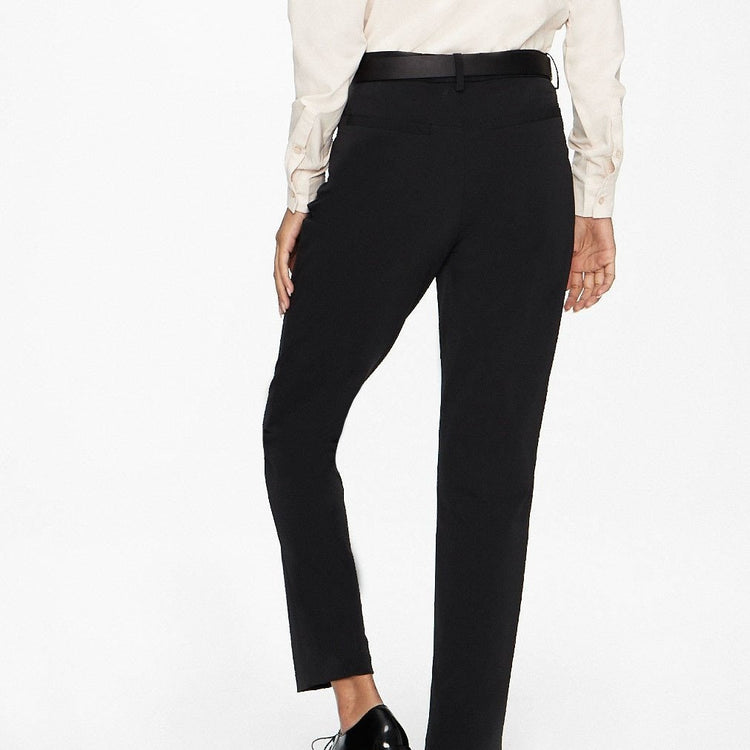 Structure Your Day Slim Leg Pant - Black
