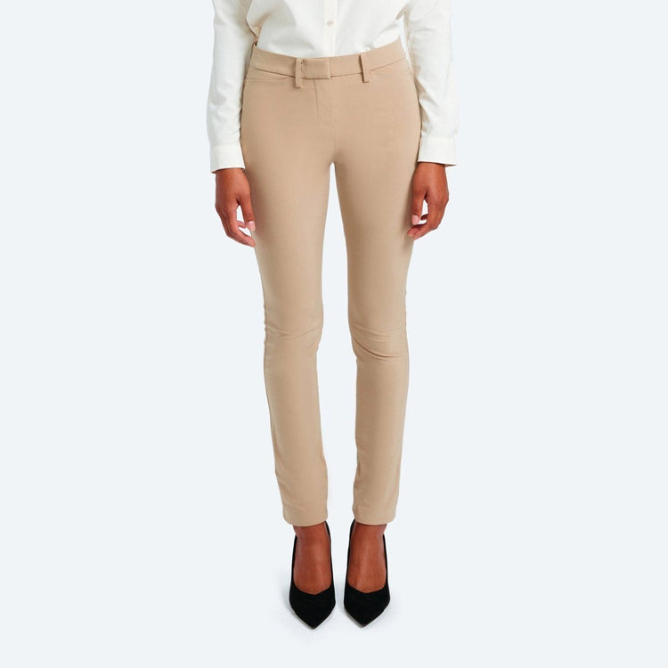 Structure Your Day Slim Leg Pant - Camel