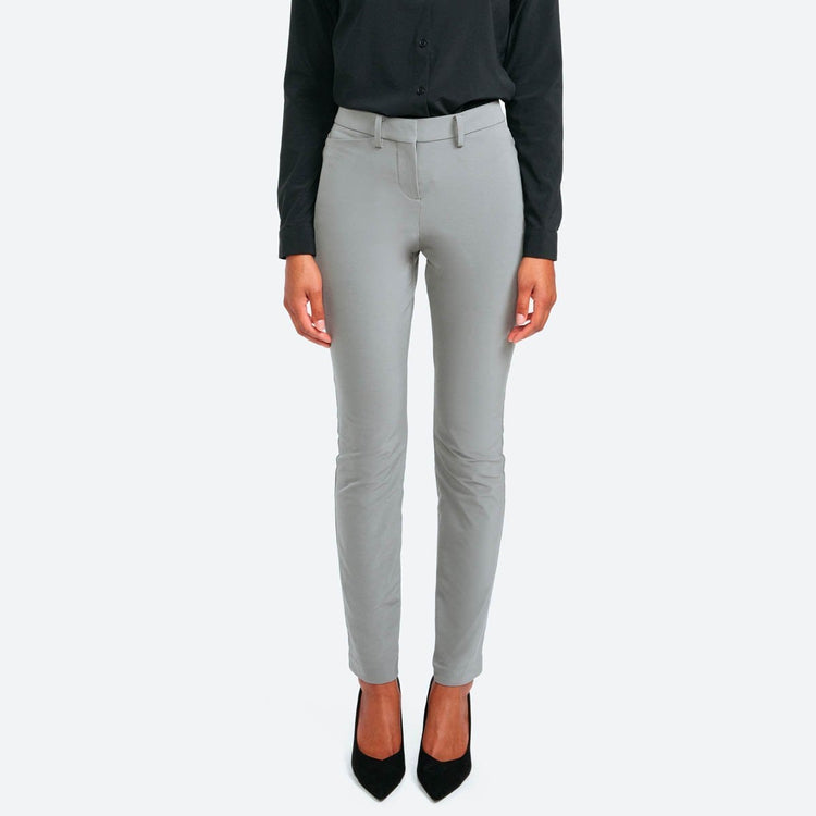 Structure Your Day Slim Leg Pant - Charcoal