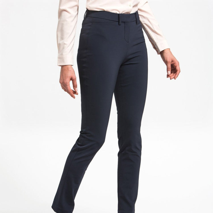 Structure Your Day Slim Leg Pant - Navy
