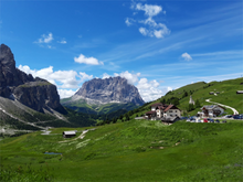 Load image into Gallery viewer, GRAN TOUR OF DOLOMITES. PASSO PORDOI, SELLA, GARDENA, MARMOLADA, PASSO MANGHEN AND PASSO DI PAMPEAGO AWAIT TO BE CONQUERED!
