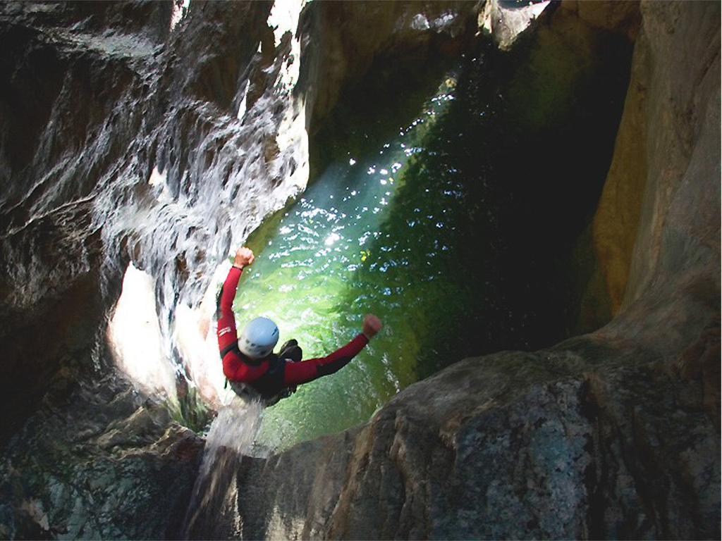 CANYONING ON MONTE BALDO!