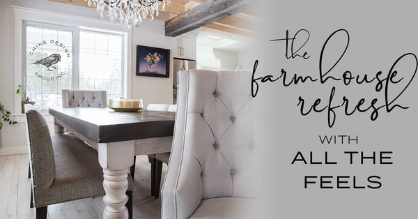 The farmhouse refresh with all the feels