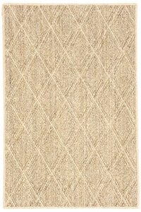 Dash & Albert Diamond Pattern Woven Sisal