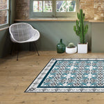 Hidraulik vinyl floor mats rugs and runners Viladomat design