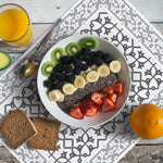 Hidraulik Padua rectangular vinyl placemat washable