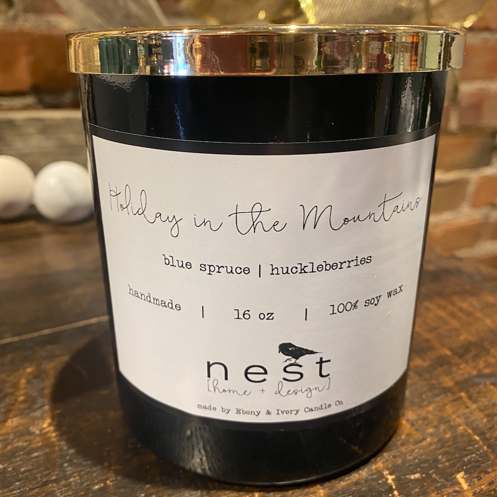 Nest Candles by Ebony & Ivory