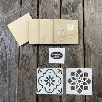 DIY Kit - Coasters Design A