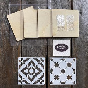 DIY Kit - Coasters Design B
