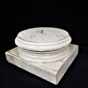 Classical-Inspired Chippy Pedestal