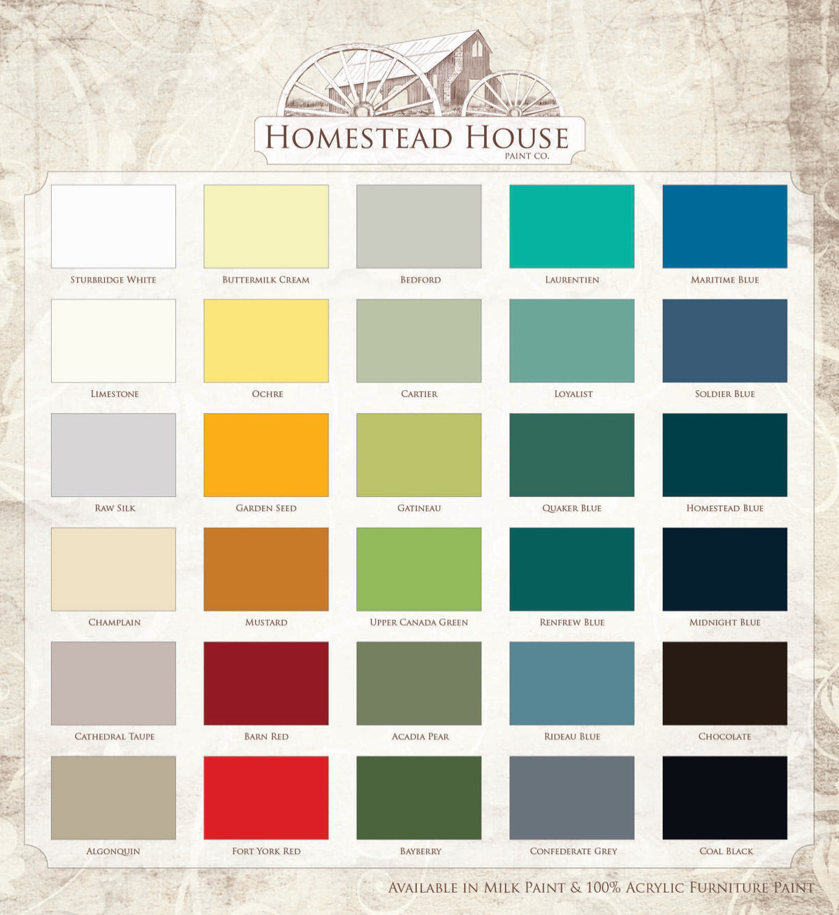 Homestead House Furniture Paint