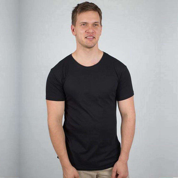 Men's Plain Round Neck T-shirt