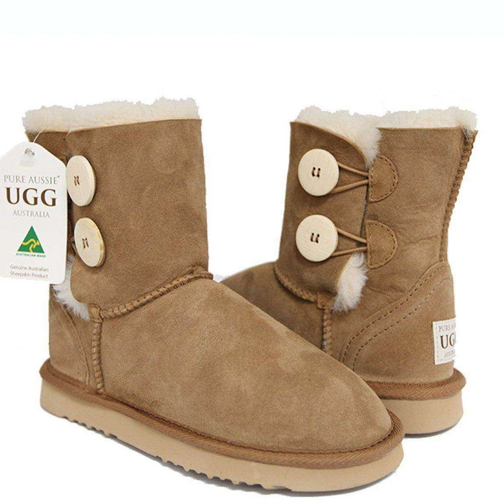 Double Button - Ugg Boots Australia - Ugg Boots Melbourne - Australian Ugg Boots