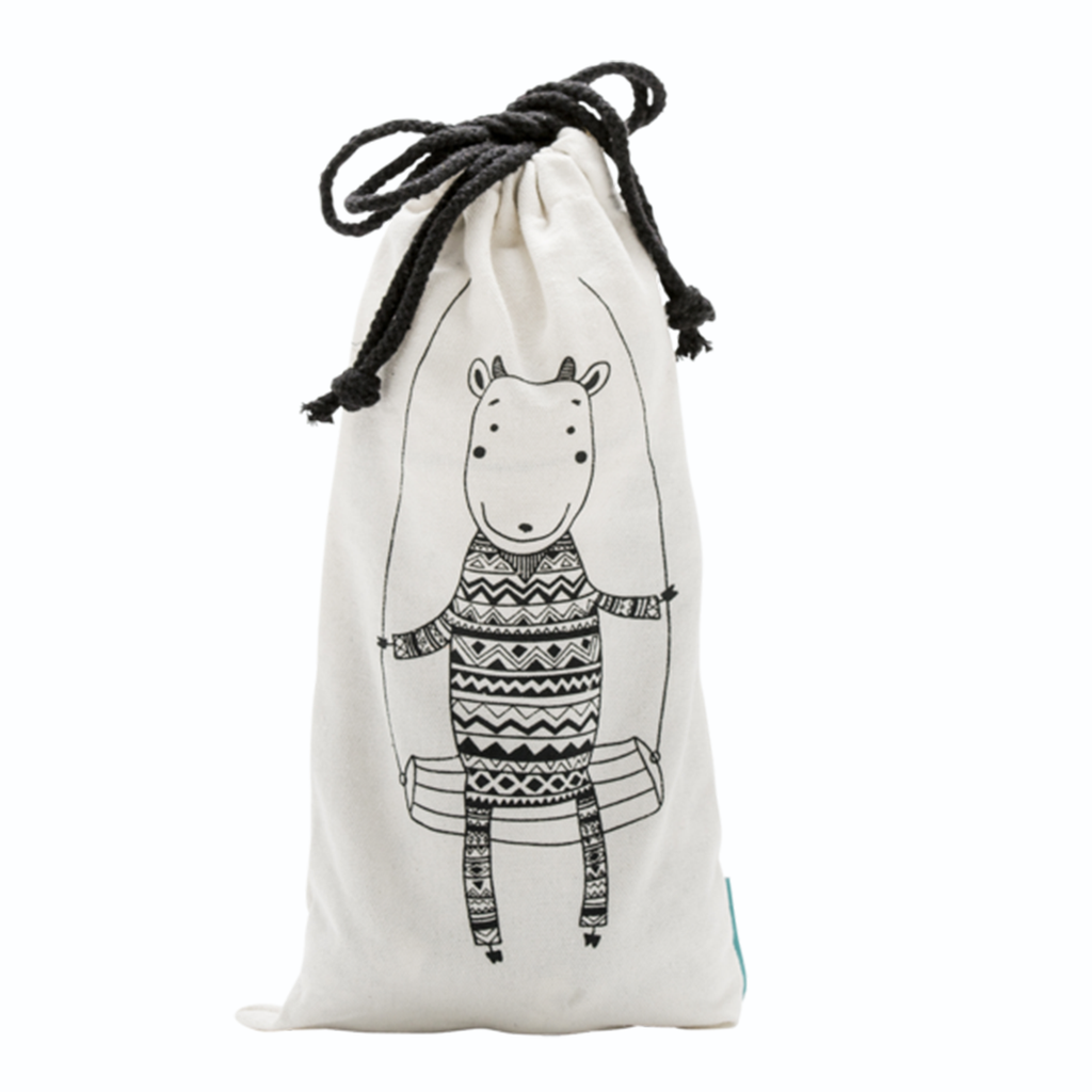 Gilly Goat Signature Canvas Gift Tote