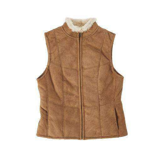 Ladies Double Face Sheepskin Vest