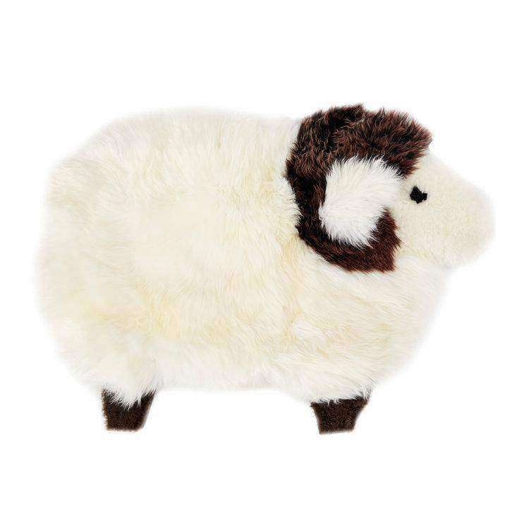 Decorative Sheep Character - Australian Sheepskin Rug