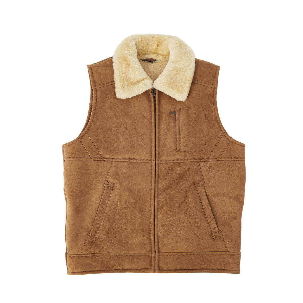 Men's Double Face Sheepskin Vest