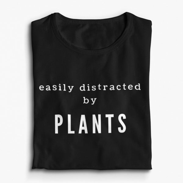 Easily Distracted By Plants Short-Sleeve Unisex T-Shirt - Livinry