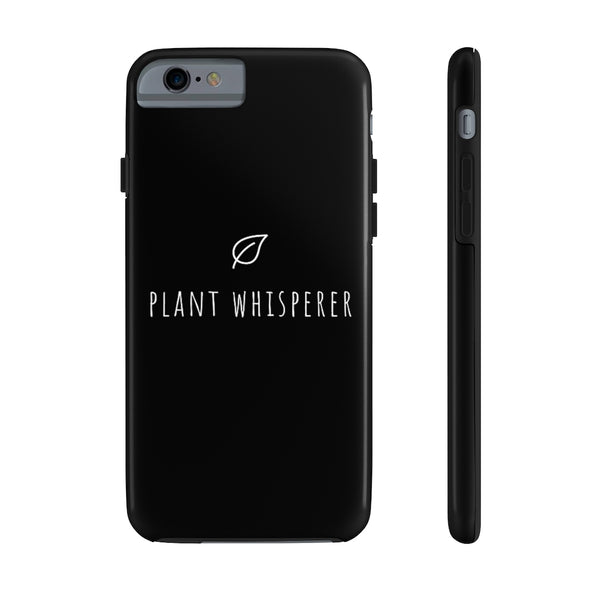 Plant Whisperer - iPhone Tough Phone Case - Livinry