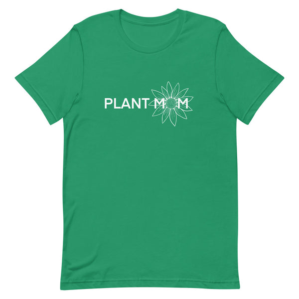 Plant Mom Line Short-Sleeve Unisex T-Shirt - Livinry