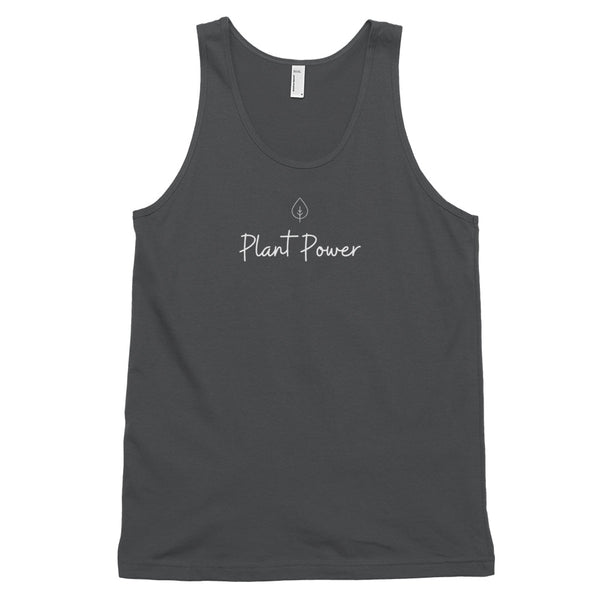 Plant Power Leaf Classic tank top (unisex) - Livinry
