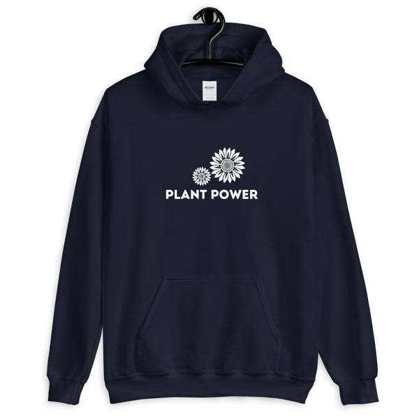 Plant Power Sunflower Unisex Hoodie - Livinry