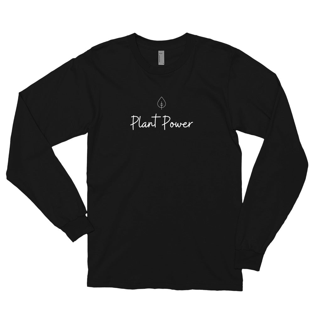 Plant Power Leaf Long sleeve t-shirt - Livinry
