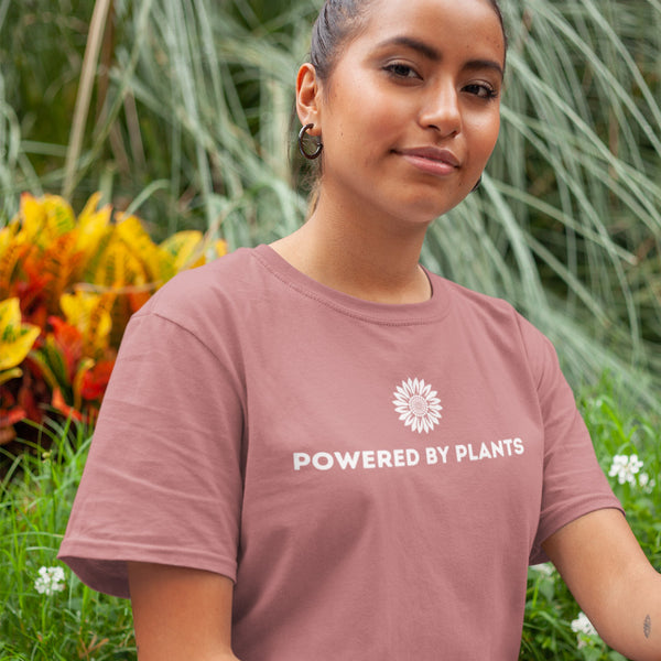 Powered By Plants Sunflower Short-Sleeve Unisex T-Shirt - Livinry
