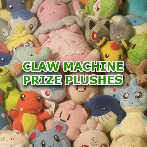 Claw Machine Prize Plushes