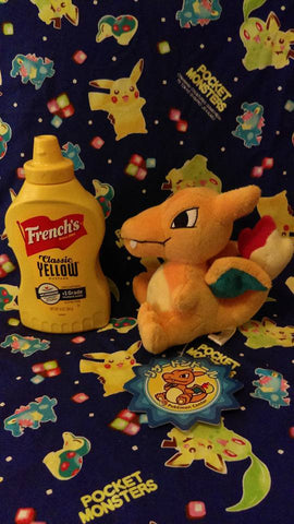 Charizard Japanese Pokedoll