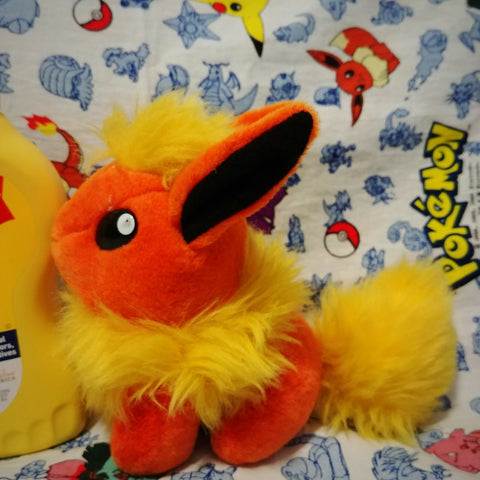 Flareon Taiwan Mirage Rare Pokemon Plush