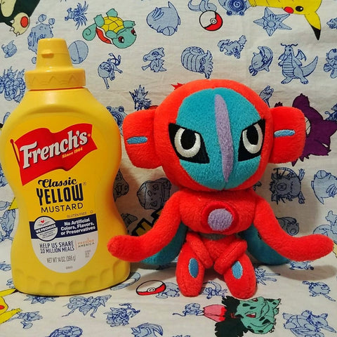 Deoxys Regular Form Japan 2004 Pokedoll