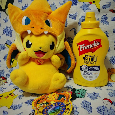 Pikazard Pokemon Center Plush