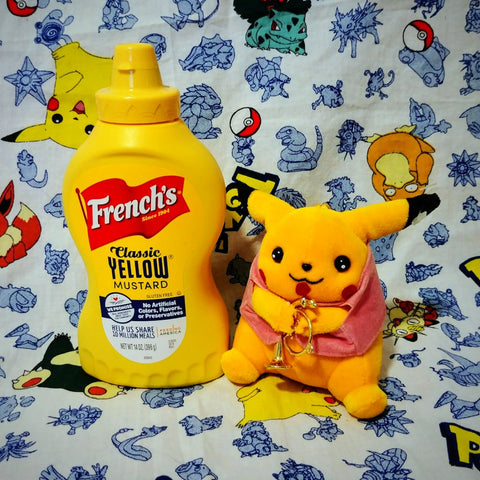 Pikachu with French Horn Mirage Plush