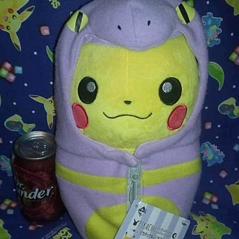 Pikachu in Ekans Sleeping Bag
