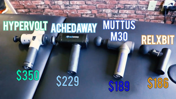 Massage gun price range under 200